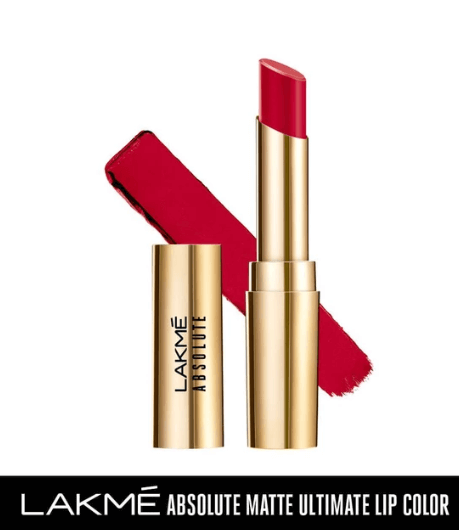 LAKMÉ ABSOLUTE MATTE ULTIMATE LIP COLOR WITH ARGAN OIL