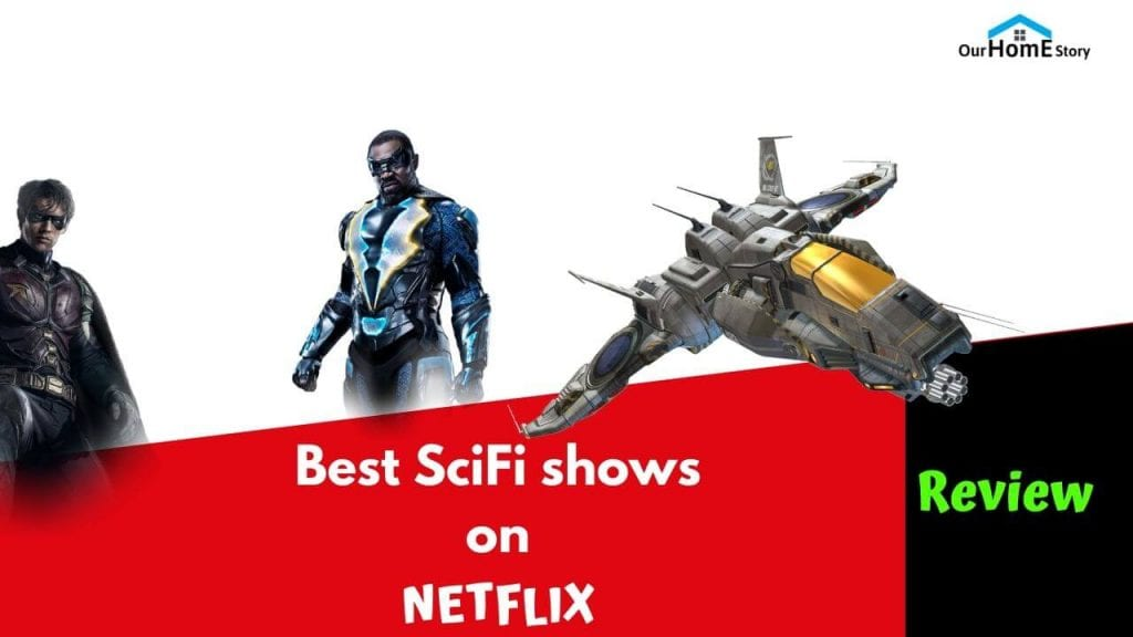 Best Scifi shows on netflix