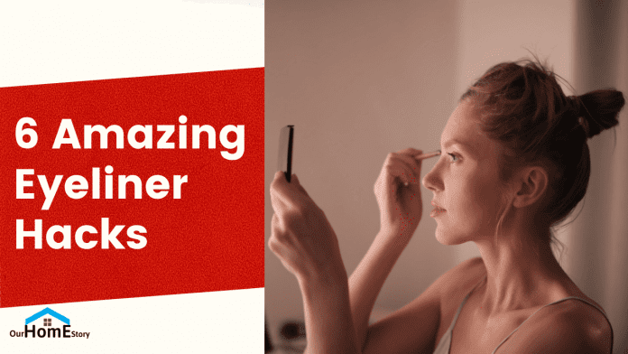 6 simple and real life eyeliner hacks
