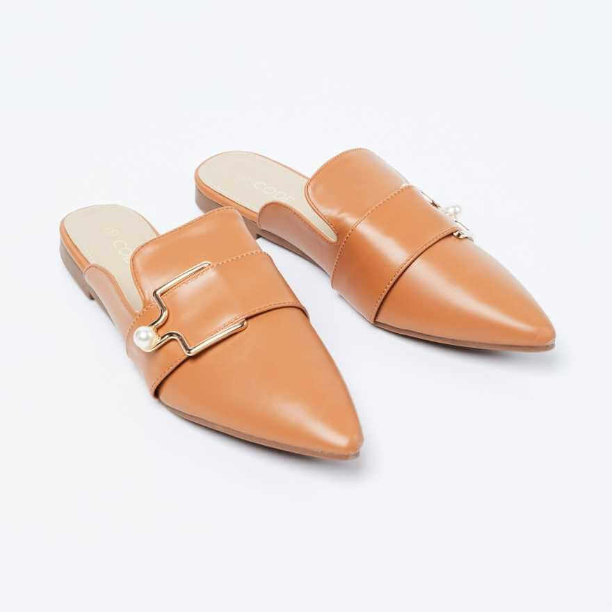 Tan mules must have for women