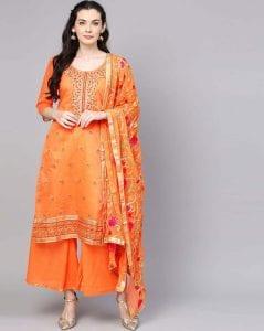 elegant suit for raksha bandhan gift for sister