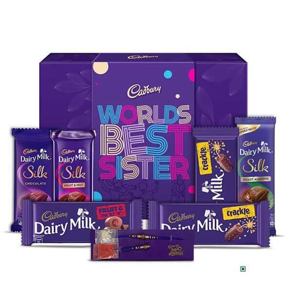 assorted chocolates for rakhi gift