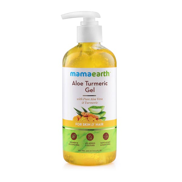 Mamaearth Aloe Turmeric Gel for Skin & Hair