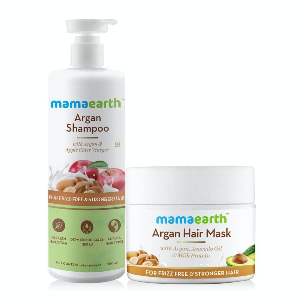 Argan Hair Mask & Argan Shampoo